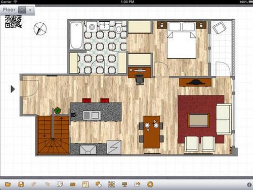 App ออกแบบบ้าน Room Arranger