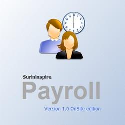 Surininspire Payroll (โปรแกรม การบริหารค่าจ้างและเงินเดือน) :