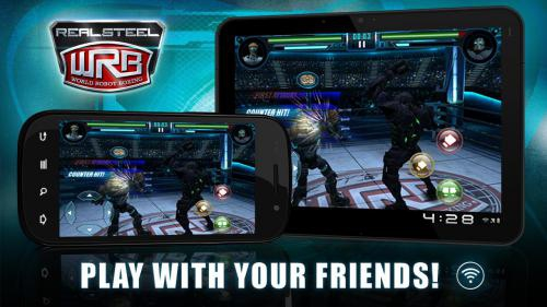 Real Steel World Robot Boxing (App เกมส์ Real Steel) :