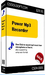 CooolSoft Power MP3 Recorder :