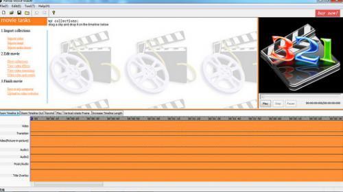 โปรแกรมตัดต่อวีดีโอ Panda Movie Maker