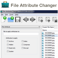File Attribute Changer (โปรแกรมเปลี่ยนรายละเอียดไฟล์ ข้อมูลไฟล์)