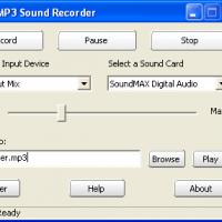 Easy MP3 Sound Recorder