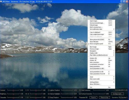 โปรแกรมดูรูป JPEGView