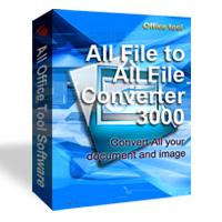 All File to All File (โปรแกรมแปลงไฟล์เอกสาร เป็น PDF เป็นรูปภาพ) :