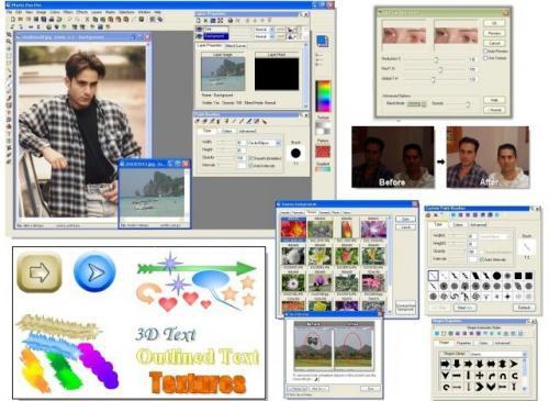 โปรแกรม Pos Free Photo Editor