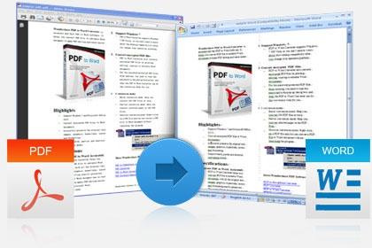 โหลดโปรแกรม Wondershare PDF to Word Converter