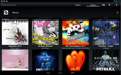 Poweramp Music Player (App เล่นเพลง Android) :