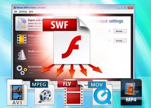 โปรแกรมแปลงไฟล์ SWF เป็นวีดีโอ