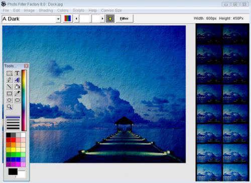 โปรแกรมวาดรูป Photo Filter Factory