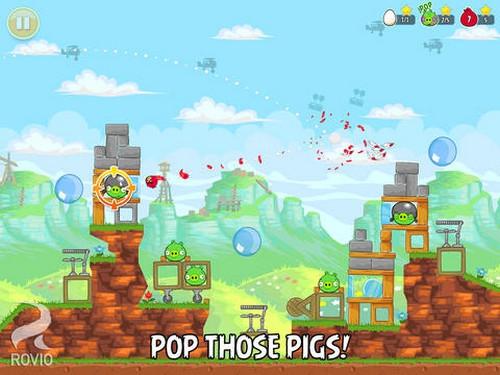ดาวน์โหลดเกมส์ Angry Birds HD