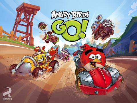 เกมส์แข่งรถ Angry Birds Go