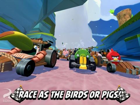 เกมแองกี้เบิร์ดแข่งรถ