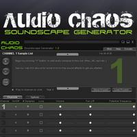 Soundscape Generator (โปรแกรม Soundscape Generator เปิด และ สร้างเสียงธรรมชาติฟรี) :