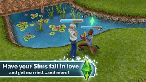 โหลดเกม The Sims Free Play