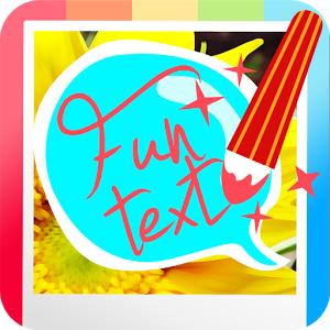 Funtext on Photo (App โปรแกรมเขียนข้อความบนรูป) :