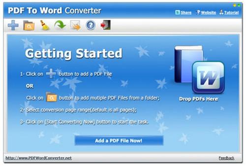 ดาวน์โหลดโปรแกรม PDF to Word Converter ฟรี