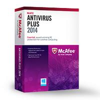 McAfee AntiVirus Plus :