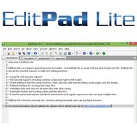 EditPad Lite (โปรแกรม EditPad แก้ไขโค้ดขนาดเล็กๆ มินิๆ) :