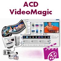 ACD VideoMagic (โปรแกรม ACD VideoMagic ช่วยตัดต่อวีดีโอ) :