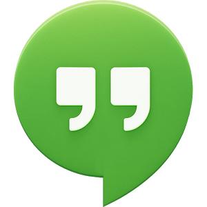 Hangouts (App แชทกับเพื่อน คุยแบบเห็นหน้า) :