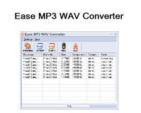 Ease-MP3-WAV-Converter :
