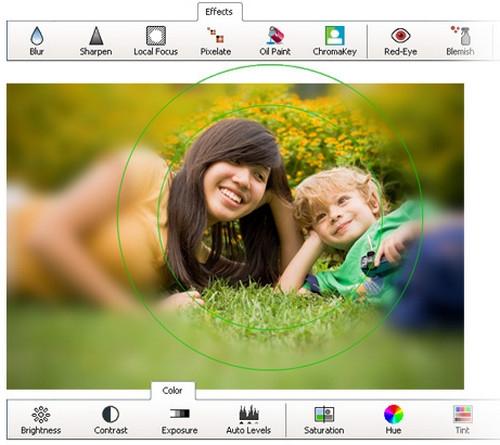 โปรแกรมแต่งรูป PhotoPad Image Editor