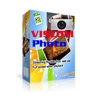 Viscom Photo (โปรแกรมแต่งภาพ ทีละหลายๆ ภาพฟรี) :