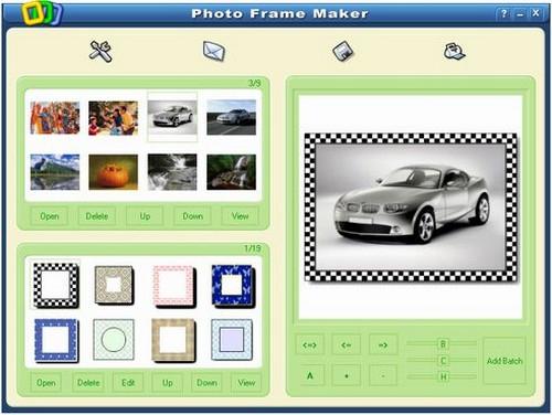 โปรแกรมทํากรอบรูป Photo Frame Maker