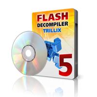 Flash Decompiler Trillix (โปรแกรมแปลงไฟล์ SWF เป็น FLA) :