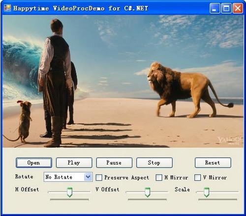 โปรแกรมหมุนวีดีโอฟรี Video Process Filter