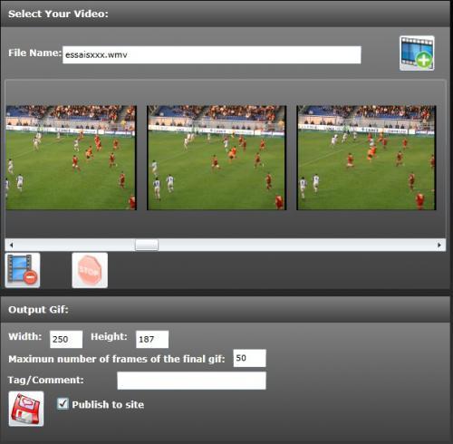 โปรแกรมแปลงไฟล์ Free Video to GIF Converter