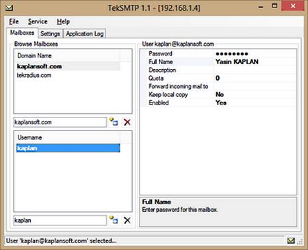 โปรแกรม SMTP ทำเมลเซิร์ฟเวอร์ ฟรี