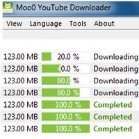 Moo0 YouTube Downloader (โปรแกรมช่วยดาวน์โหลดวีดีโอ Youtube ฟรี) :