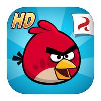 Angry Birds HD (โหลดเกมส์ Angry Birds บน iPad)