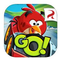 Angry Birds Go (App เกมส์ Angry Birds Go แข่งรถแบบ 3 มิติ)