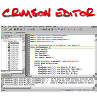 Crimson Editor (โปรแกรมแก้ไข Source Code ฟรี)