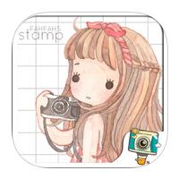 FahFahs Stamp by PhotoUp (App แต่งรูปสติ๊กเกอร์)