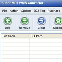 Super MP3 WMA Converter