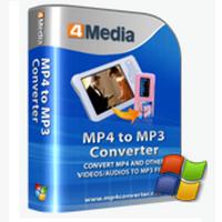 4Media MP4 to MP3 Converter (โปรแกรมแปลงไฟล์ MP4 เป็น MP3)