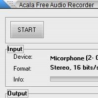 Acala Free Audio Recorder (โปรแกรมบันทึกเสียง ที่จิ๋วแต่แจ๋ว)