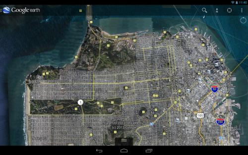 Google Earth โปรแกรมแผนที่