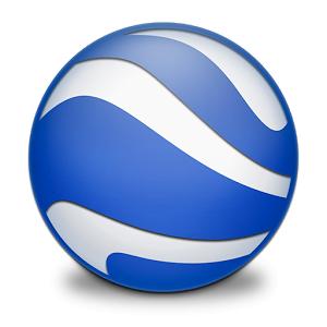 Google Earth (App แผนที่ Google Earth บนมือถือ) :