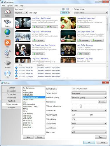 ดาวนโหลดโปรแกรม VDownloader