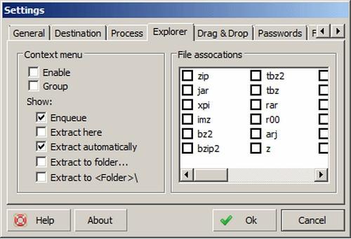 โปรแกรม Unzip ไฟล์ฟรี ExtractNow