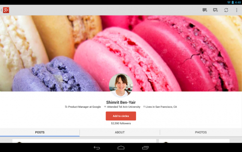 โหลด Google+