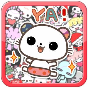 My Chat Sticker 3 (App โหลดสติ๊กเกอร์ฟรี 350 แบบ ทุกแอป) :
