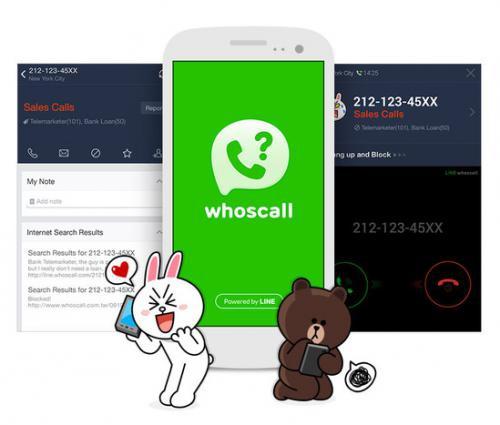 App LINE whoscall