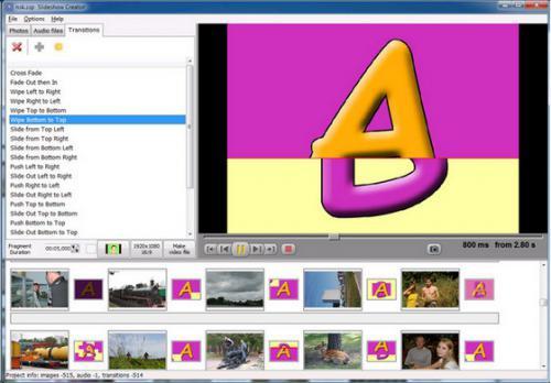 Free Bolide Slideshow Creator :
