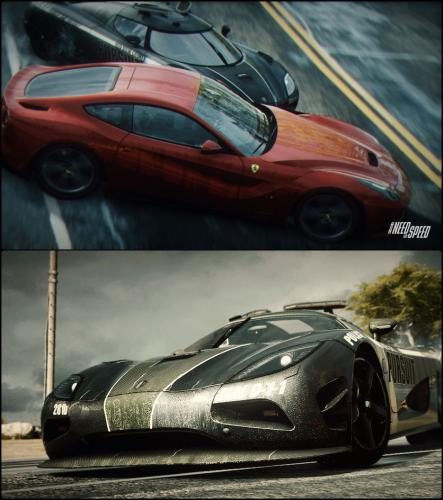 เกม Need For Speed Rivals